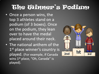Winter Games PowerPoint - CANADIAN version - 2018