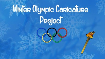 Winter Olympics PowerPoint with Caricature Project