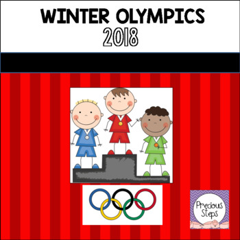 Winter Olympics Pre-K Activities and Learning Center
