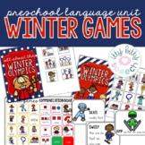 Winter Olympics Preschool Language Unit