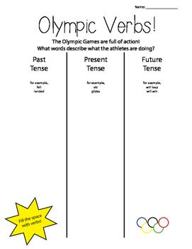 Olympics Printables