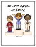 Winter Olympics Reader with Picture and Word Phrase Cards