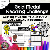 Gold Medal Reading Challenge-Getting students to AIM FOR A