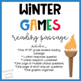 Winter Games Reading Passage
