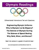 Winter Olympics Readings Set:  PyeongChang 2018