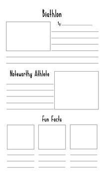 Winter Olympics Research Posters
