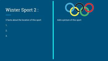olympics research assignment
