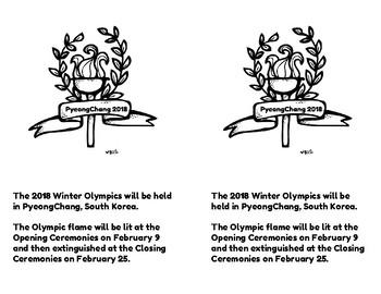 Winter Olympics Shared Reading 2
