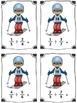 Winter Sports Skiing Fraction Division Math Center (Common Core)