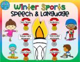 Winter Sports Speech and Language Activities