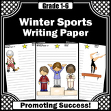 Winter Writing Paper for Winter Sports Activities