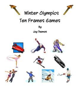 Winter Olympics Ten Frames Games