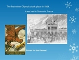 Winter Olympics: Then and Now