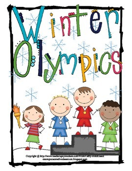 Winter Olympics Unit for 3rd, 4th, & 5th