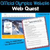 Winter Olympics Web Quest