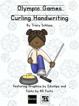 Winter Olympics, Winter Olympic Games, Curling Handwriting