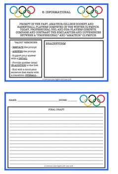 olympic essay in english Dbq essay the olympic games today have been influenced by many factors that happened throughout history in documents 2 and 8, the increases of women participants in the games show social change of the world.