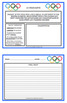 Winter Olympics 2018 Writing Prompts