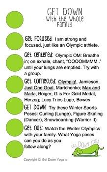 Winter Olympics Yoga