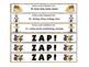 Winter Games ZAP! Alphabetical Order