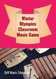 Winter Olympics early childhood classroom music game