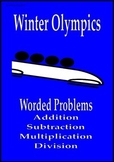 Winter Olympics math activities worded problems Sochi 2014