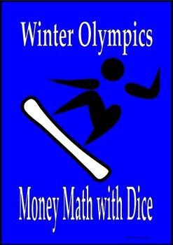 Winter Olympics math decimal addition multiplication activ