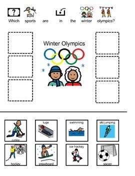 Winter Olympics sort