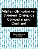 Winter Olympics vs. Summer Olympics Compare and Contrast Reading Passages