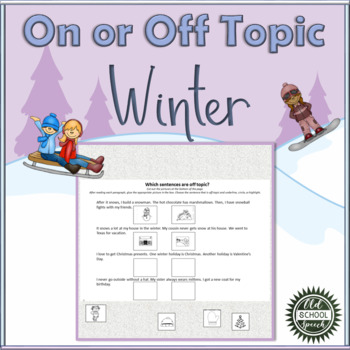 Winter On/Off Topic