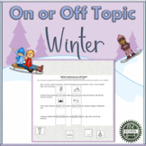 Teaching the Terms On or Off Topic: Winter Edition