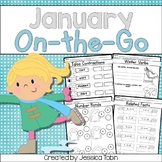 Winter Math and ELA Printables