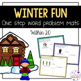 Winter One Step Word Problems!