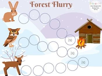 Winter Open-Ended Board Game Bundle Teletherapy Digital