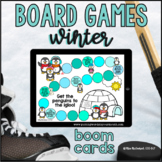 Winter Open Ended Board Games |  Boom Cards™