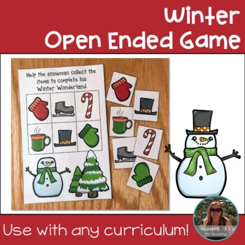 Winter Open Ended Game