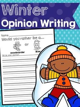Winter Opinion Writing