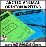 Winter Opinion Writing Activity | Adopt an Arctic Animal for a Class Pet