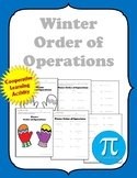Winter Order of Operations Cooperative Learning Activity