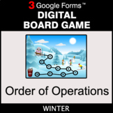 Winter: Order of Operations - Digital Board Game | Google Forms