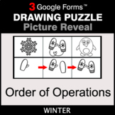 Winter: Order of Operations - Drawing Puzzle | Google Forms