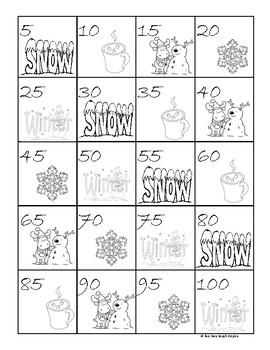 Winter # Ordering 1-20, 2's-20, 5's-100, 10's-100