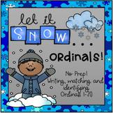 Winter Ordinal Math Packet