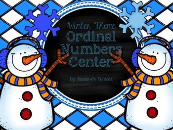 Winter Ordinal Numbers Center