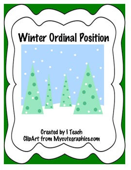 Winter Ordinal Position