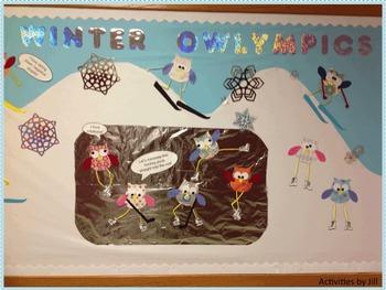 Winter Owl Bulletin Board FREE Plans