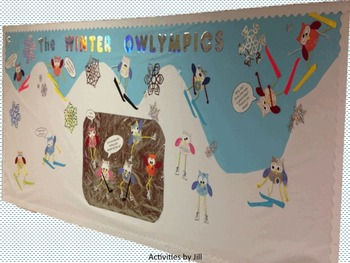 Winter Owl Bulletin Board FREE Plans