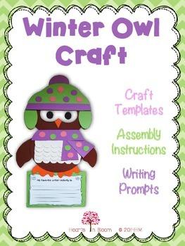 Winter Owl Craft