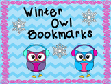 Winter Owl Reading Comprehension Bookmarks
