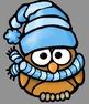 Winter Owls Clip Art - Whimsy Workshop Teaching